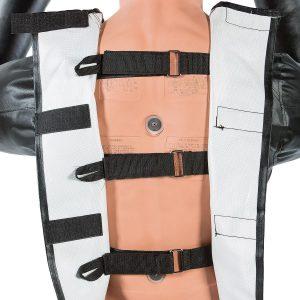 fermture de la veste big bob dans le dos