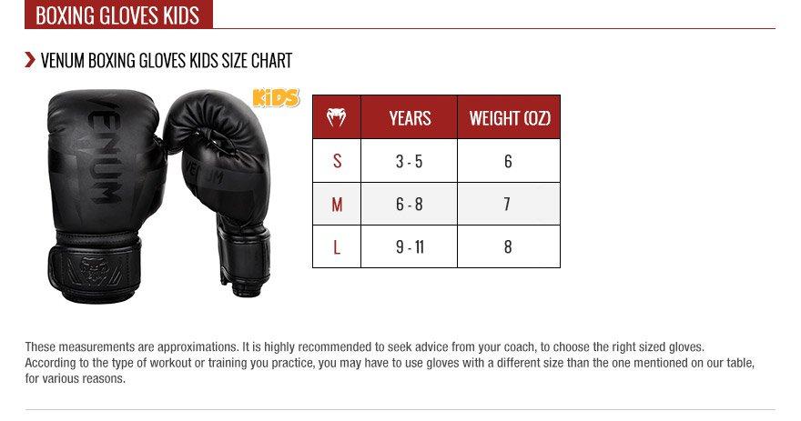 Comment choir la taille des gants de boxe pour enfants