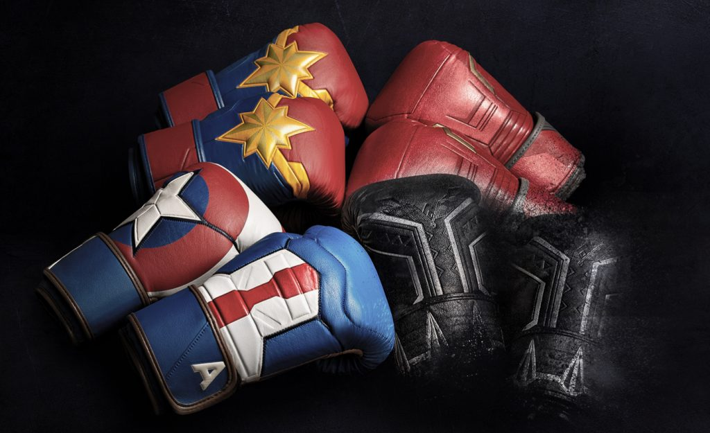 gants de boxe hayabusa marvel